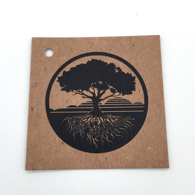 Brown Kraft Hang Tags - Custom Design