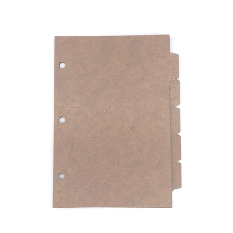 Mini Binder Dividers - ReTab 5 (10 sets)