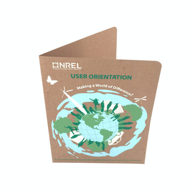 Custom Printed Presentation Folders - RePocket  - Four Colors
