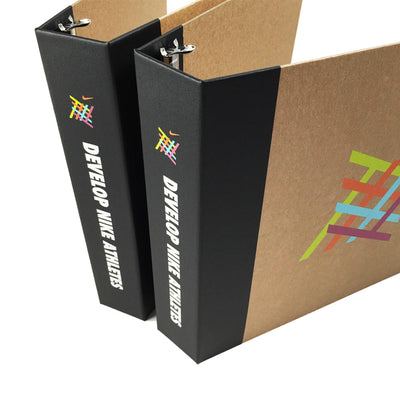 "Foil Stamped 2"" ReBinder Professional Recycled Binders"