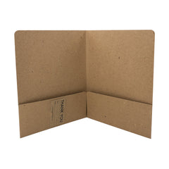 Recycled Presentation Folders - RePocket - Double Pocket