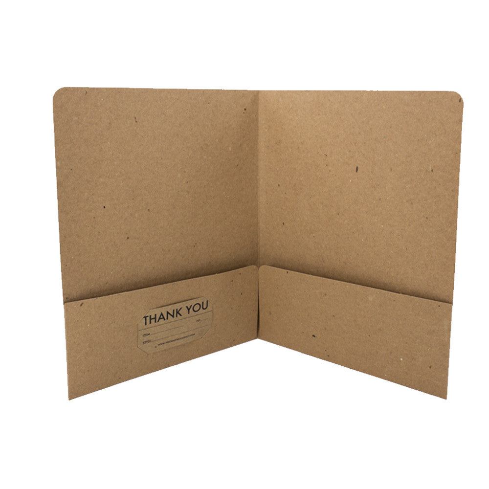 Recycled Presentation Folders - Guided.com
