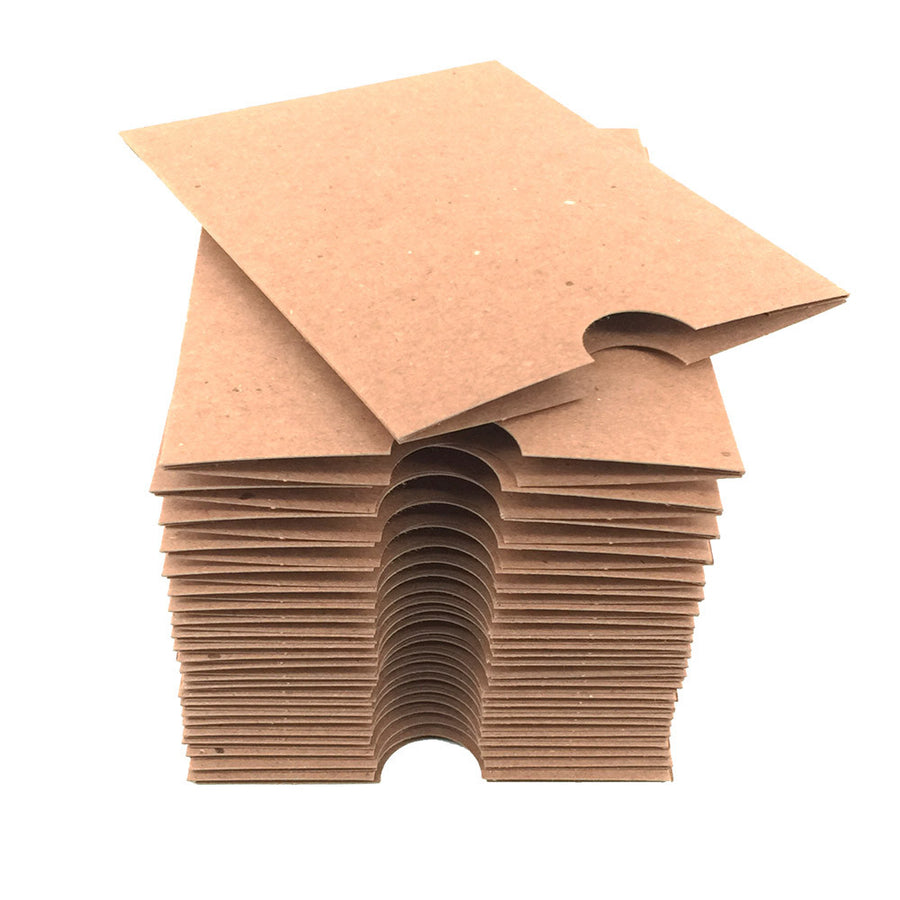 "4.25"" x 5.5"" Receipt Sleeve - Recycled Chipboard"