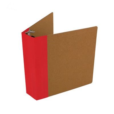 ReBinder Professional With Custom Spine Color - Red Flare Vellum