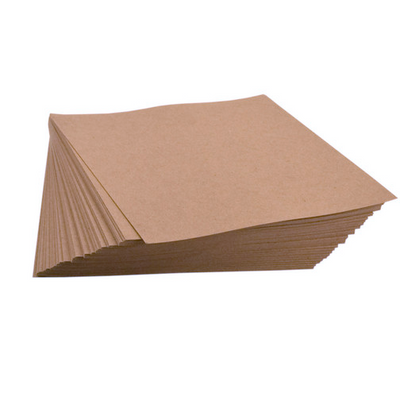 "20 pt Chipboard Sheets - 8.5"" x 11"" (100 sheets) - Brown Kraft"