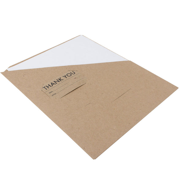Slash Pocket Folders - RePouch - 100% Recycled, 18 pt Chipboard