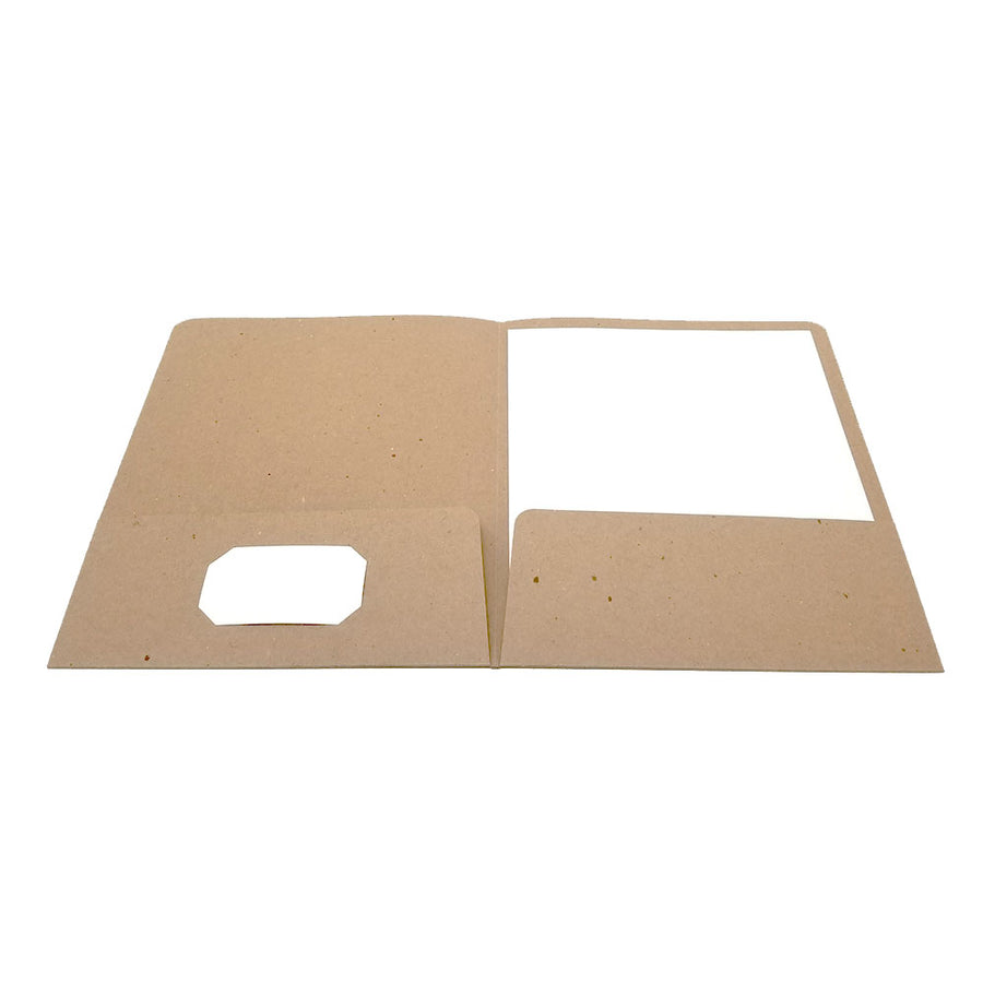 Recycled Presentation Pocket Folder - Two Pocket