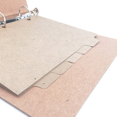 Mini Recycled Binder Dividers - ReTab 5-Tab