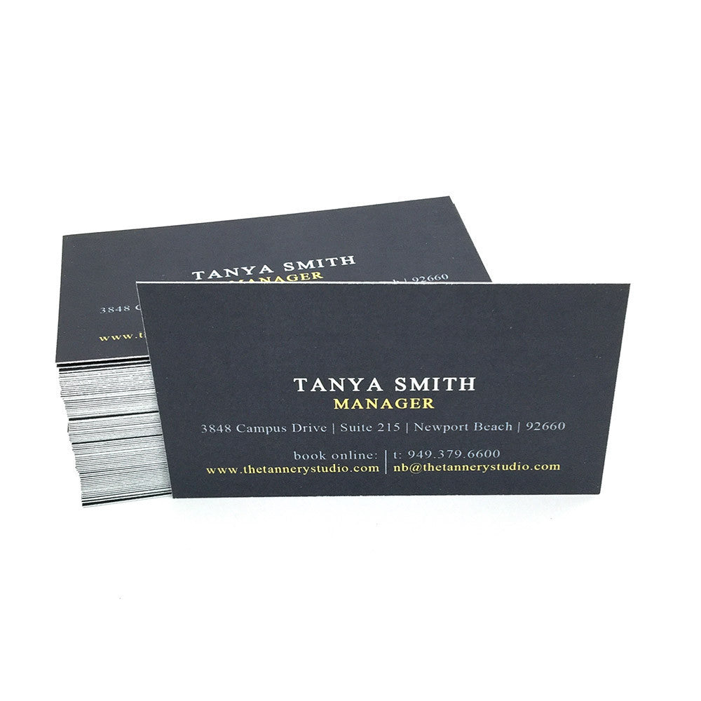 Premium Natural White Business Cards - Guided.com