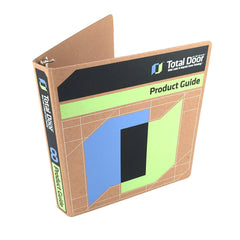 "Custom Printed 1"" ReBinder Select Recycled Binders - 4 Color for Total Door"