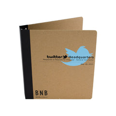 "Custom Printed 1"" ReBinder Professional Recycled Binders - Guided  - 2"
