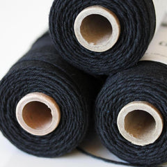 Bakers Twine - Solid Charcoal Black Twine Spool - 100% Cotton