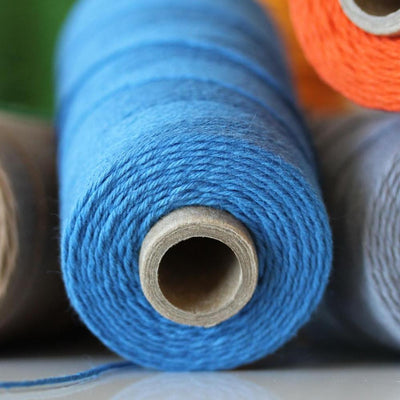 Bakers Twine - Solid Denim Blue Twine Spool - Perfect for Baby Boy Announcements