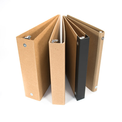 ReBinder Recycled Binders Assortment Combo - Each Binder type Represented