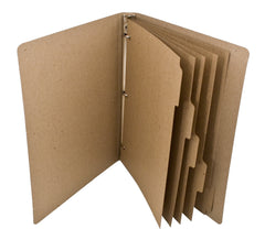 ReTab 5-Tab Binder Dividers (10 sets) - Recycled, Made in USA
