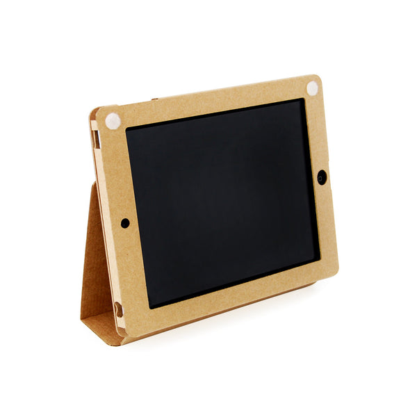 Recycled Cardboard iPad Cases - Brown Kraft (3 pack) - Fits iPad 2