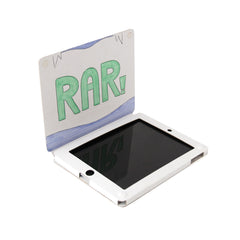 Recycled Cardboard iPad Cases - White (3 pack) - Velcro Closure