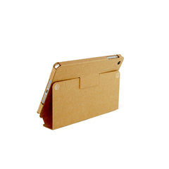Recycled Cardboard iPad Mini Cases - Brown Kraft (3 pack) - Locking Stand