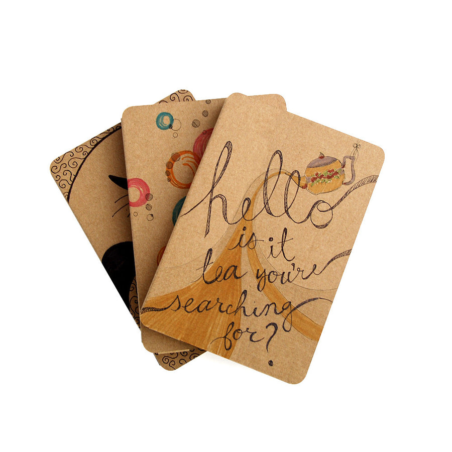 Recycled Cardboard iPad Mini Cases - Brown Kraft (3 pack) - Great for Kids