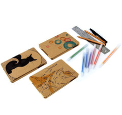Recycled Cardboard iPad Mini Cases - Brown Kraft (3 pack) - Create!