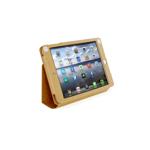 Recycled Cardboard iPad Mini Cases - Brown Kraft (3 pack)
