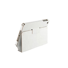 Recycled Cardboard iPad Mini Cases - White (3 pack) - Locking Stand