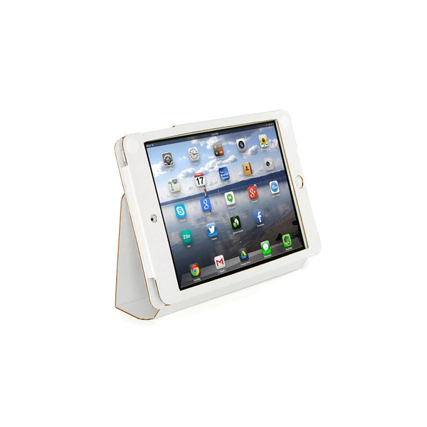 Recycled Cardboard iPad Mini Cases - White (3 pack)