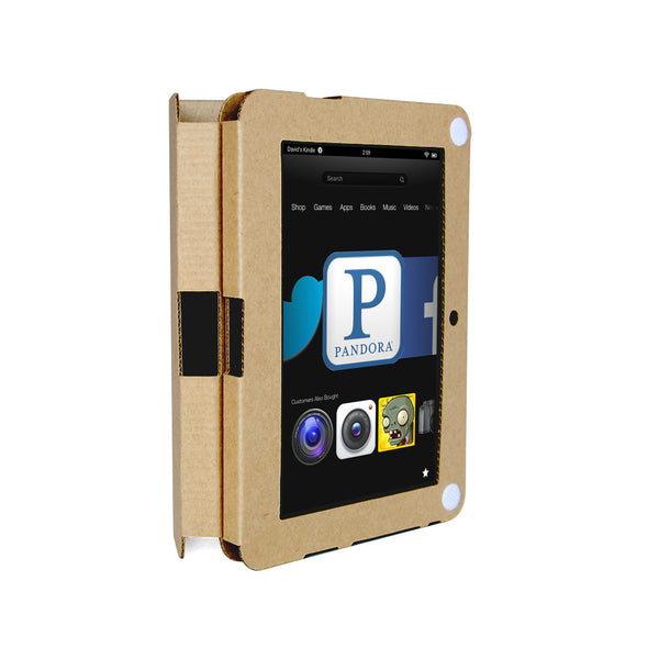 Recycled Cardboard Fire HD Cases - Brown Kraft (3 pack)