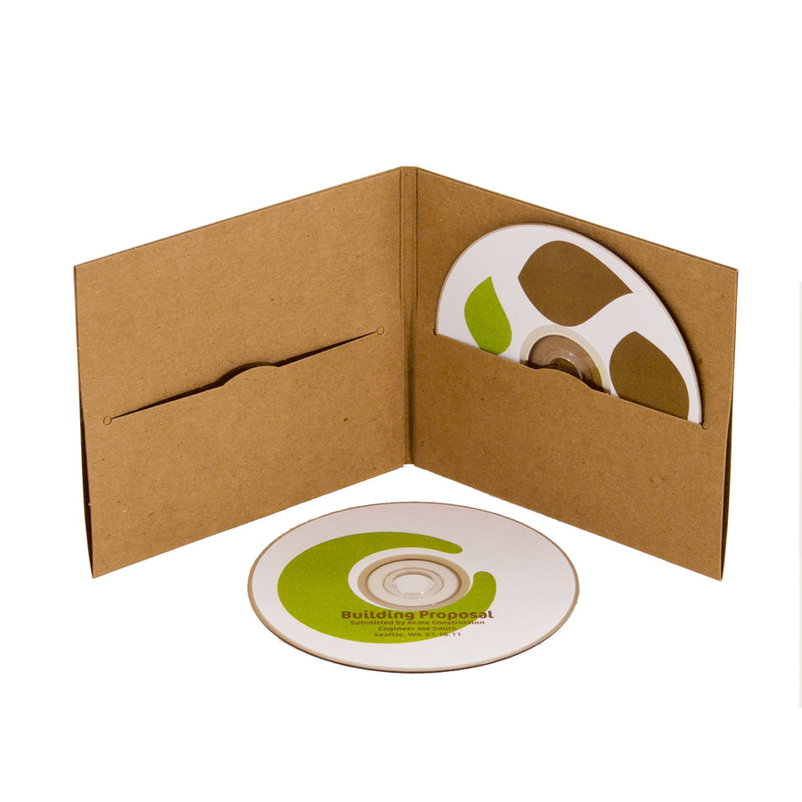 CD Labels - White - Eco Friendly Printable Labels