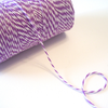 Bakers Twine - Twisted Lilac Purple and White Twine Spool - Create a party invitation