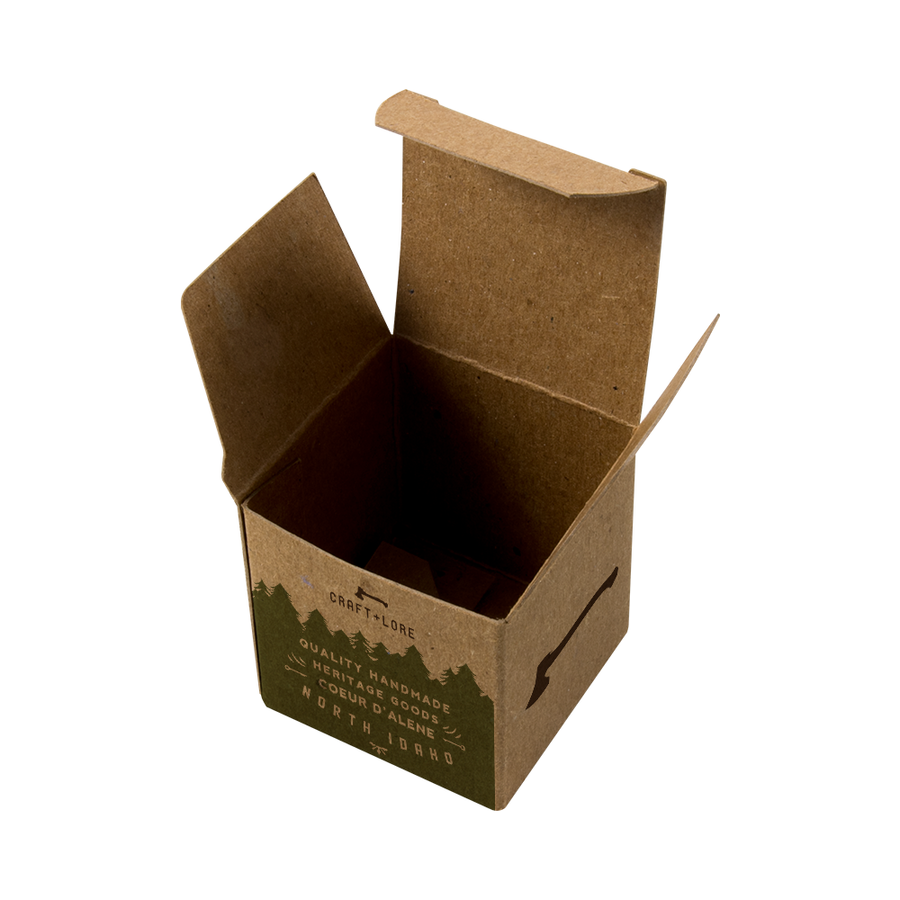 Custom Printed Recycled Gift Boxes 4x4x4 - Sustainable Box