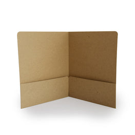 Recycled Presentation Folders - RePocket - Brown Kraft