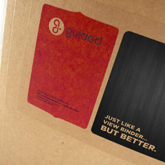 "1.5"" ReBinder Original Recycled Binders - Made in USA"