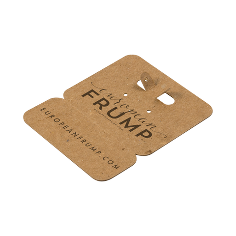 Custom Earring Cards with Perforation