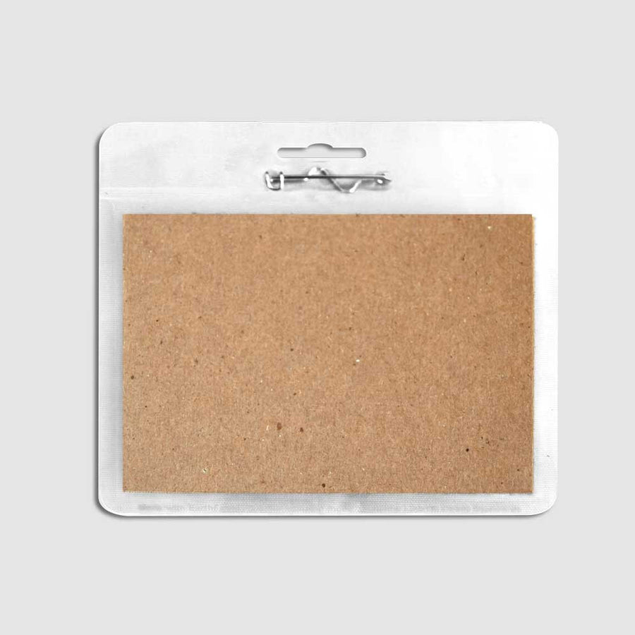 ReBadge Biodegradable Badge Holders (125 Units) - Guided  - 2