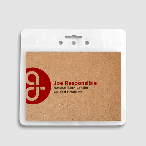 ReBadge Biodegradable Badge Holders (125 Units)
