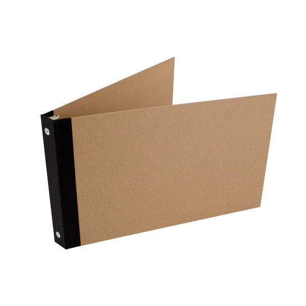 "1"" ReBinder Professional Landscape Binders - Recycled Chipboard"