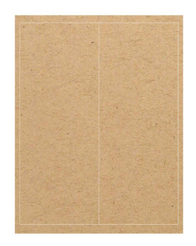 RePlay CD Case Labels - Brown Kraft - Guided  - 3