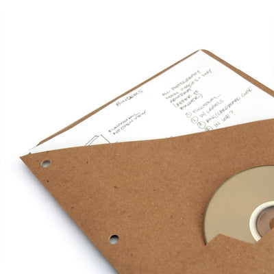 Embossed Binder Pockets - RePouch - Guided - 2 - With or Without CD Slot