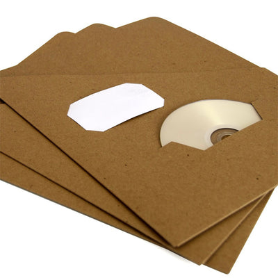 Custom Slash Pocket Folders - RePouch - Folders With Business Card and CD Slot