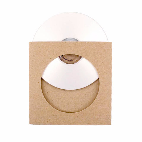 Custom Printed Cardboard CD Sleeves - ReSleeve View