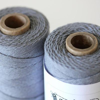 Bakers Twine - Solid Stone Gray Twine Spool - Get Creative with our Bakers wine