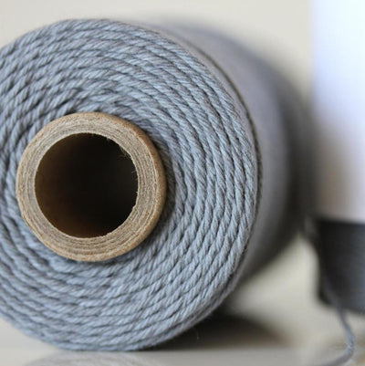 Bakers Twine - Solid Stone Gray Twine Spool - What can you create?