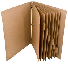 Custom Printed Binder Dividers - ReTab 8-Tab - Three-hole Punched