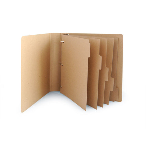 Binder Dividers - ReTab 5-Tab (10 sets)