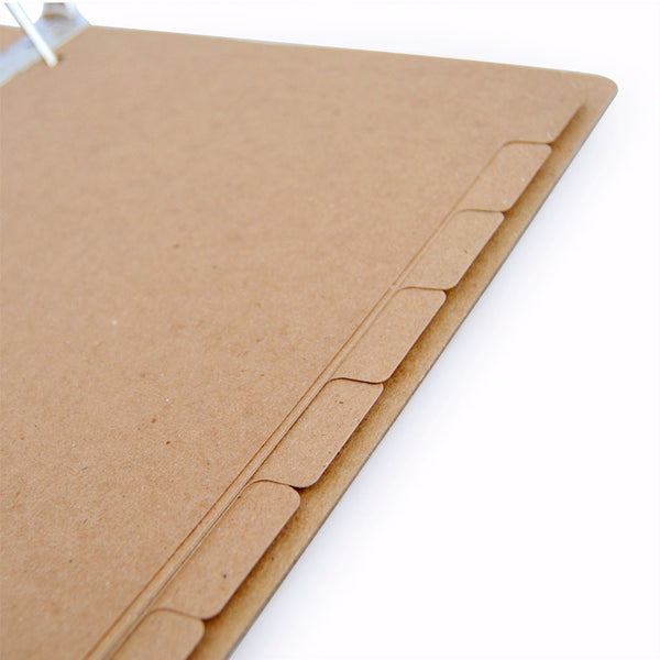 ReTab 8-Tab Binder Dividers (10 sets) - Recycled Dividers