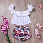 Load image into Gallery viewer, Infant fashion summer clothes