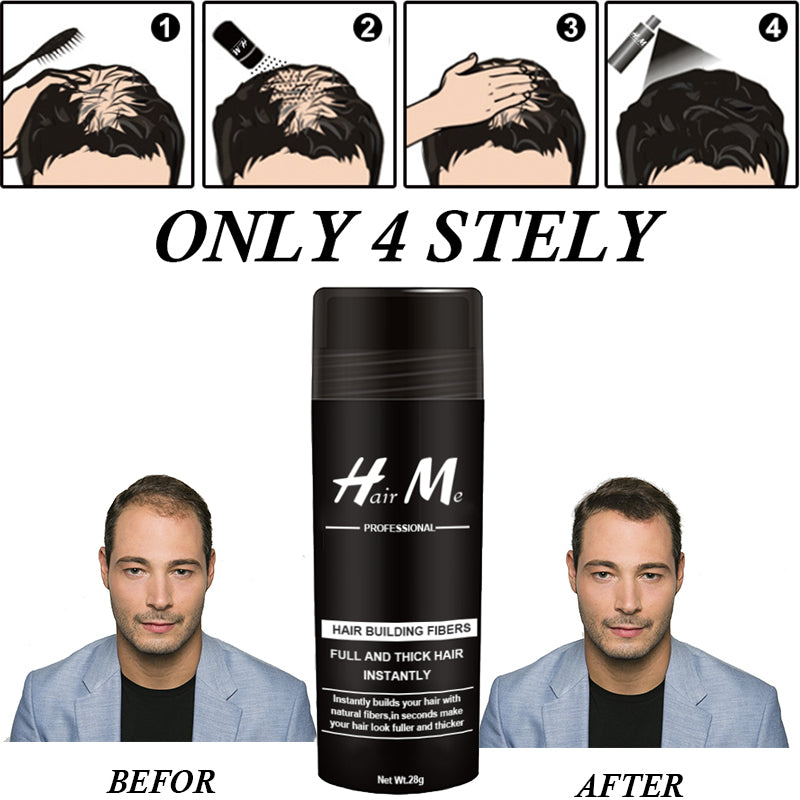 Conceal Fibers Hair Thickener Growth