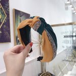 Load image into Gallery viewer, Fashion Designer's Crystal Patchwork Hairband