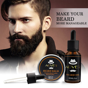 Men Beard Oil Strengthens Thickens